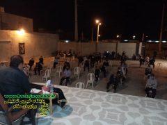 مراسم عزاداری و نوحه سرایی به مناسبت شهادت امام رضا در سعدآباد