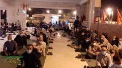 تصاویر برگزاری مراسم ناله های فراق بمناسبت اربعین حسینی با حضور شروه خوانان استانی در گلزار شهدا دهقاید