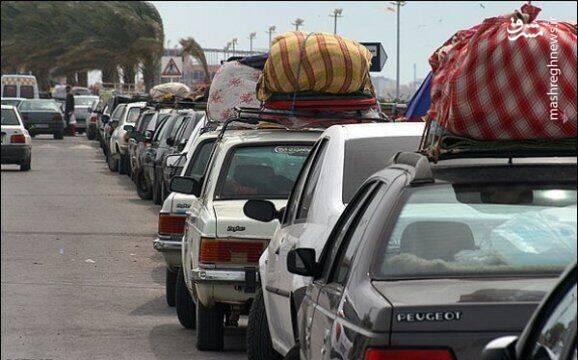 کرونا مثبت ها در نوروز پانزده هزار مسافرت داشتند