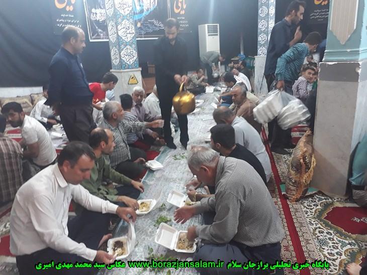 شب بیست چهارم رمضان در بین روزه داران و  نمازگزارن مسجد المهدی برازجان به روایت تصویر