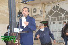عزاداری صبح شهادت حضرت زهرا در مسجد قلعه برازجان + تصاویر اختصاصی