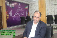فرماندار دشتستان : بر اتمام پروژه های نیمه تمام تآکید کرد