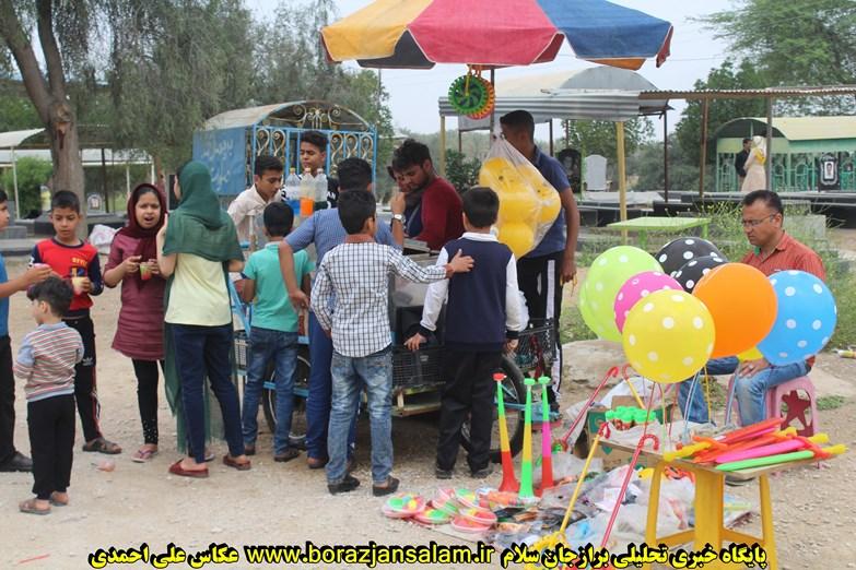 تصاویر اختصاصی ۱۳ بدر در امامزاده میرهداف سعداباد