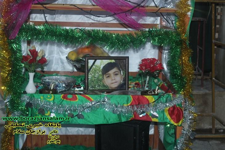 برازجان فرزند ۱۰ سالش میکائیل رضایی راد را از دست داد + اطلاعیه مراسم خاکسپاری