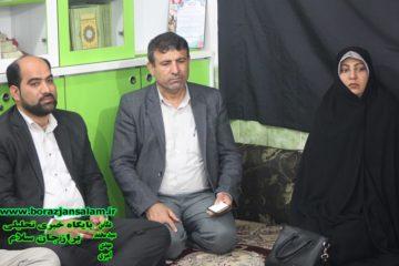 دیداررییس واعضای شورای شهربرازجان بامردم محله فرهنگ شهرو بررسی مشکلات آنان