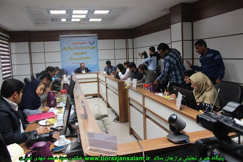 پنج هزار انشعاب در بوشهر غیر مجاز بوده که تبدیل به انشعاب مجاز شده و در دشتستان هم هزار انشاب بوده است که تببدیل به مجاز شده است