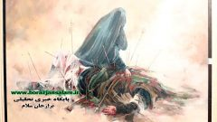 نمایشگاه نقاشی عاشورایی رستاخیز در بوشهر افتتاح شد/ عاشورا یکی از عناصر تأثیرگذار فرهنگ اسلامی است