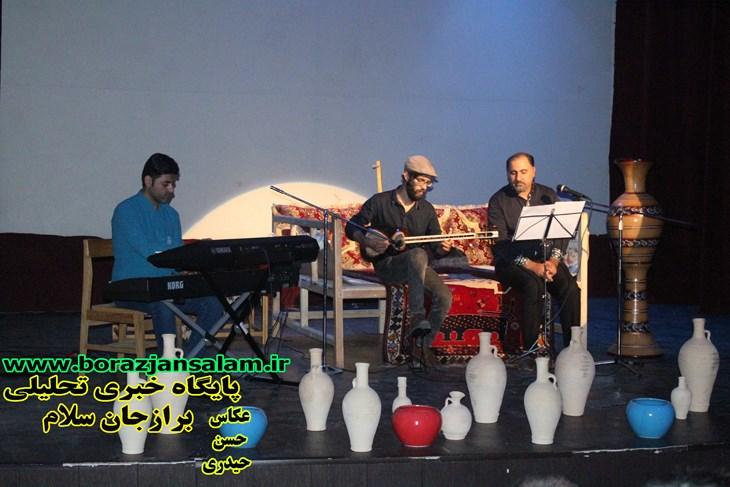 پنچاه و یکمین برنامه شب شعر نوای غزل با حضور شاعران دشتستان در تالار فرهنگ برازجان برگزار شد