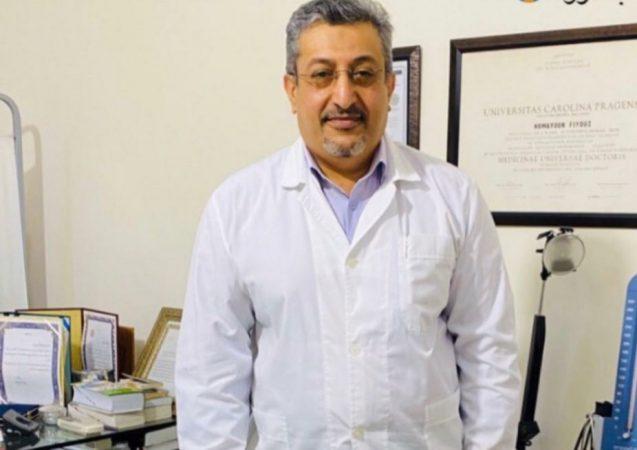 همایون فیوض دکتر بوشهری آسمانی شدنت مبارک