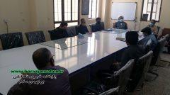 بازدید مسئول نمایندگی ولی فقیه در سپاه دشتستان از حوزه نجف اشرف برازجان
