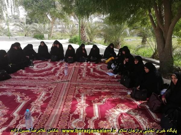 برگزاری اردوی یک روزه ی فرهنگی درمحل امامزاده زیدابن علی (ع).+ تصاویر