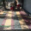 شهرداری برازجان و حرکت پرشتاب در مسیر توسعهی شهری /با احداث پیادهروهای باکیفیت و کمک به کاهش ترافیک خیابانها صورت میگیرد .