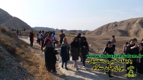 همایش کوه هپمایی همگانی وحدت در برازجان برگزار شد .