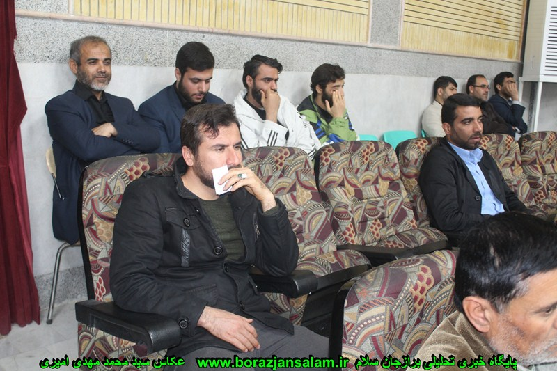 گزارش تصویری گردهمایی جوانان انقلابی برازجان برگزار شد