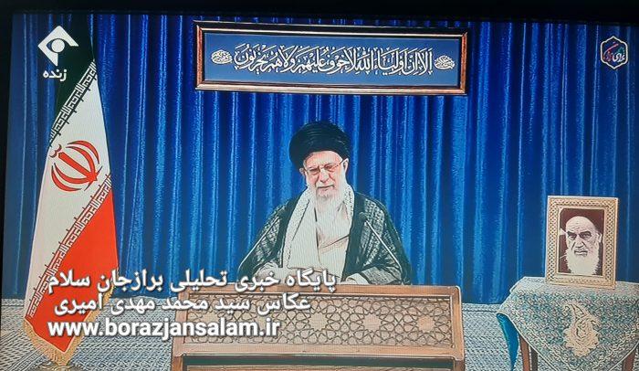 بیانات پخش شده رهبر انقلاب به مناسبت ارتحال حضرت امام خمینی از شبکه های رسانه ملی