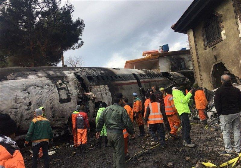 اسامی کامل جانباختگان سانحه سقوط هواپیمای ارتش
