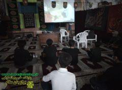 مراسم تجلیل از نوجوانان تعزیه خوان هیئت جوانان قمربنی هاشم (ع) شهرسعدآباد+ تصاویر