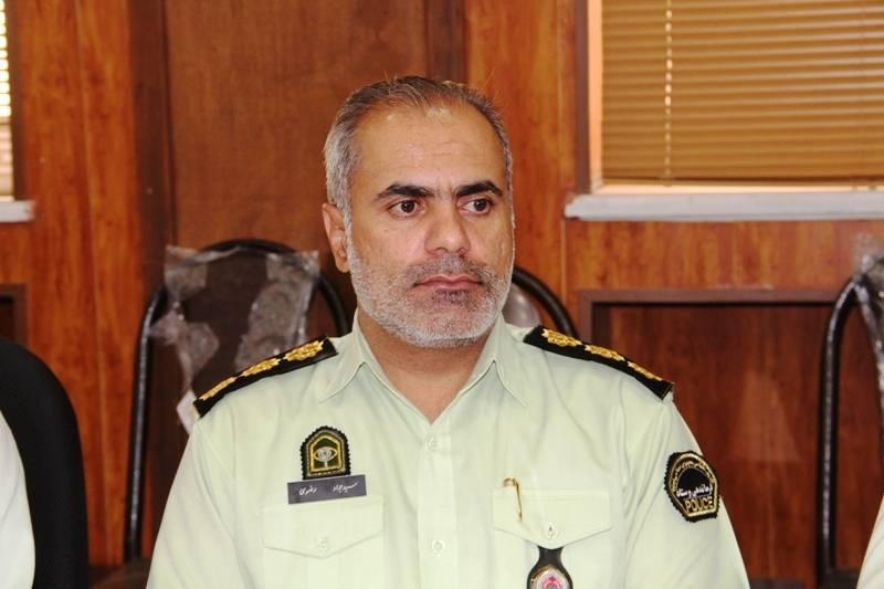 پیام فرمانده انتظامی شهرستان دشتستان بمناسبت ۱۴ و ۱۵ خرداد