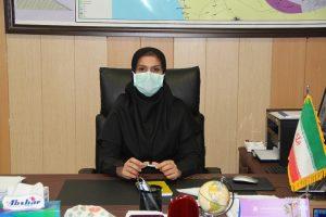 ماریا خویش دوست رییس شبکه بهداشت درمان شهرستان دشتستان: در ایام بیماری کرونا بسیاری از بازارایان و کسبه ها با بازرسان شبکه بهداشت و درمان همکاری و تعامل بسیار خوبی داشتن و با رعایت کردن پروتکلهای بهداشتی به سلامت