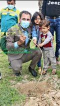 به مناسبت روز ملی درختکاری و گرامیداشت یاد مهندس علی پورجم:کاشت درخت توسط شهردار برازجان