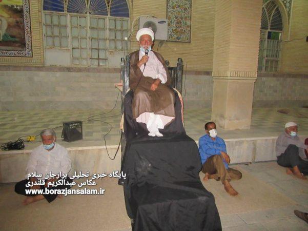 گزارش تصویری مراسم شهادت امام محمد باقر در حسینیه اعظم کاکی