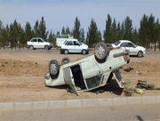 واژگونی سرویس مدرسه با ۷ دانش آموز در استان همدان
