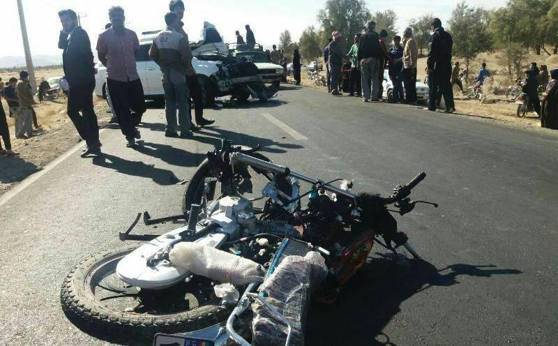 فوت ۲ راکب موتورسیکلت در محورهای دشتستان