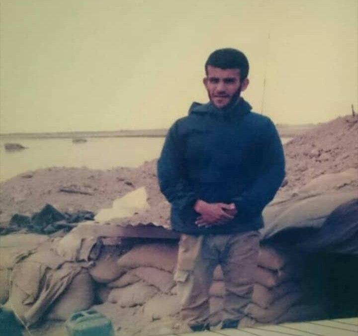 اولین تصاویر ارسالی امروز صبح ازپیکر شهید غلامرضا سلیمی در شهر بوشهر  یگان فرودگاه
