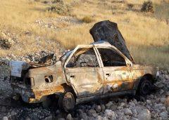 آتشسوزی خودرو ۴۰۵ با ۱۲ سرنشین