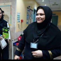 دومین زن شهید مدافع سلامت استان بوشهر به برادر شهیدش پیوست