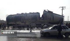 جزئیات انفجار تانکر سوخت در برازجان
