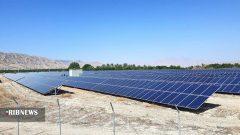 افتتاح بزرگترین نیروگاه خورشیدی بوشهر در دشت پلنگ دشتی