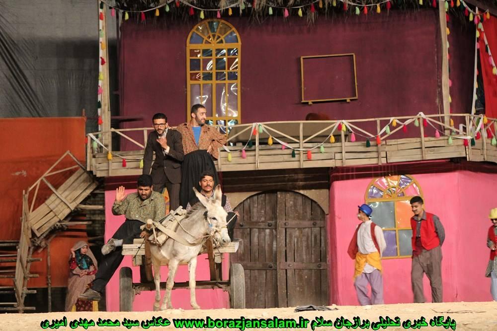 تصاویر اختصاصی شب سوم نمایش بزرگ طنز ووموچه یک در برازجان