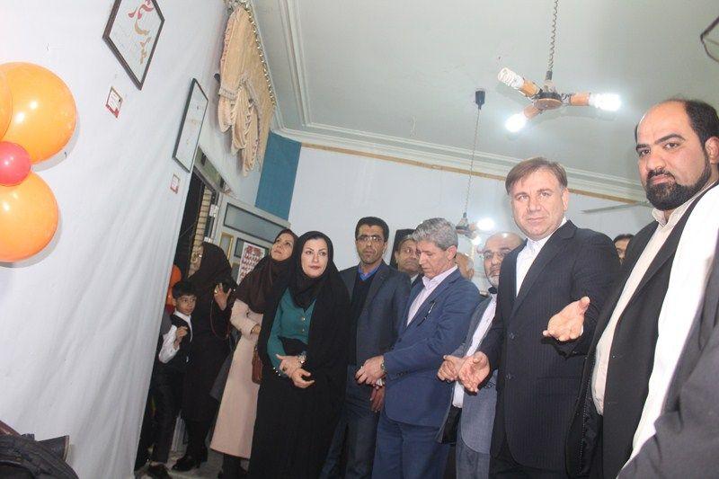 گزارش تصویری افتتاح دومین نمایشگاه خوشنویسی و طراحی برازجان