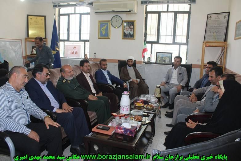 به مناسبت روز پاسدار مراسم تجلیل از فرماندهی ناحیه سپاه برازجان برگزار شد+ تصاویر اختصاصی