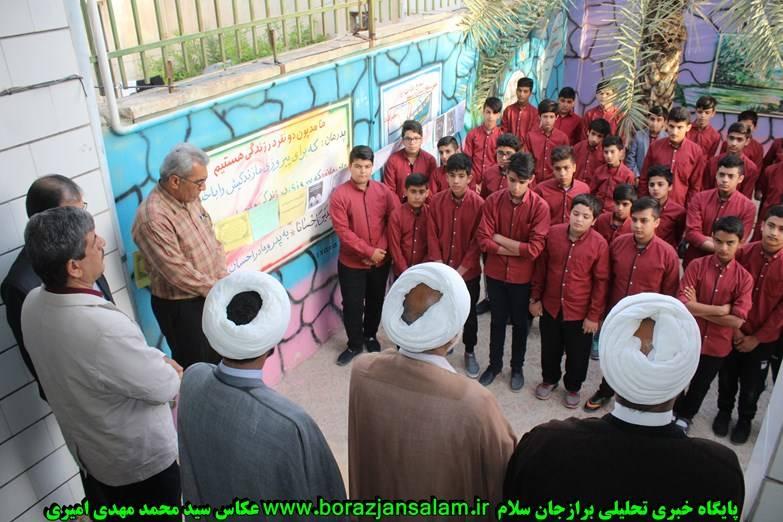 در روز پاسدار از دآنش آموزان فعال نماز تجلیل شد + تصاویر اختصاصی