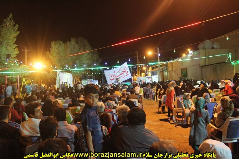 تصاویر اختصاصی جشن شعبانه به مناسب روز پاسدار در برازجان