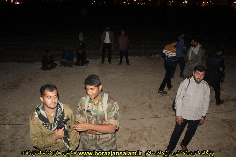 تصاویر تمرین نمایش میدانی میراث رو ح الله یک شب قبل از اجرای اصلی