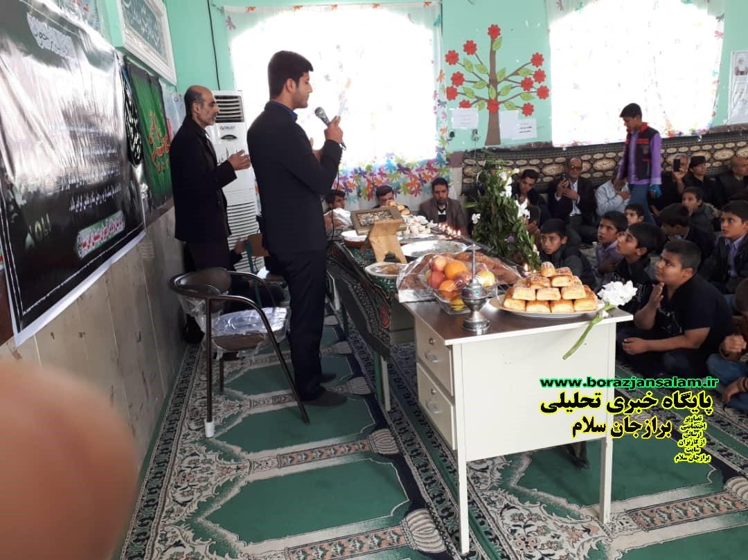 دانش آموزان دبستان ابن سینا برازجان برای همکلاسی خود مراسم عزاداری برپا نمودند + تصاویر اختصاصی