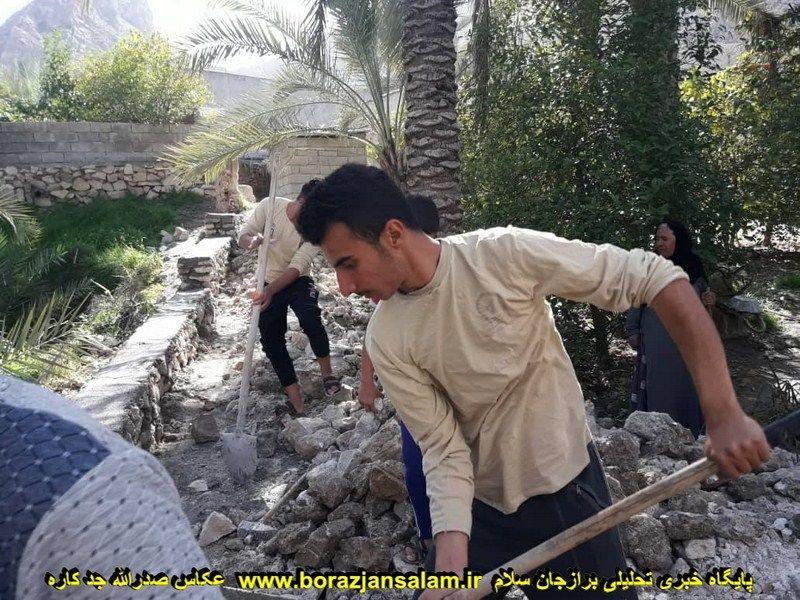 گزارش تصویری گروه جهادی بخش ارم رود فاریاب در ۱۲ بهمن